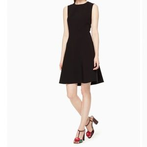 Kate Spade Classic Stretch Crepe Flip Zip Dress